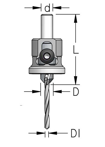 ATP Countersink with Low Friction Depth Stop